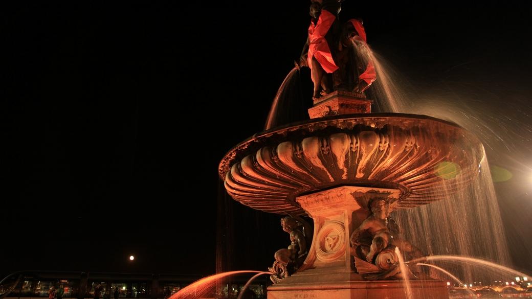 teaser timelapse Bordeaux fontaine place de la bourse