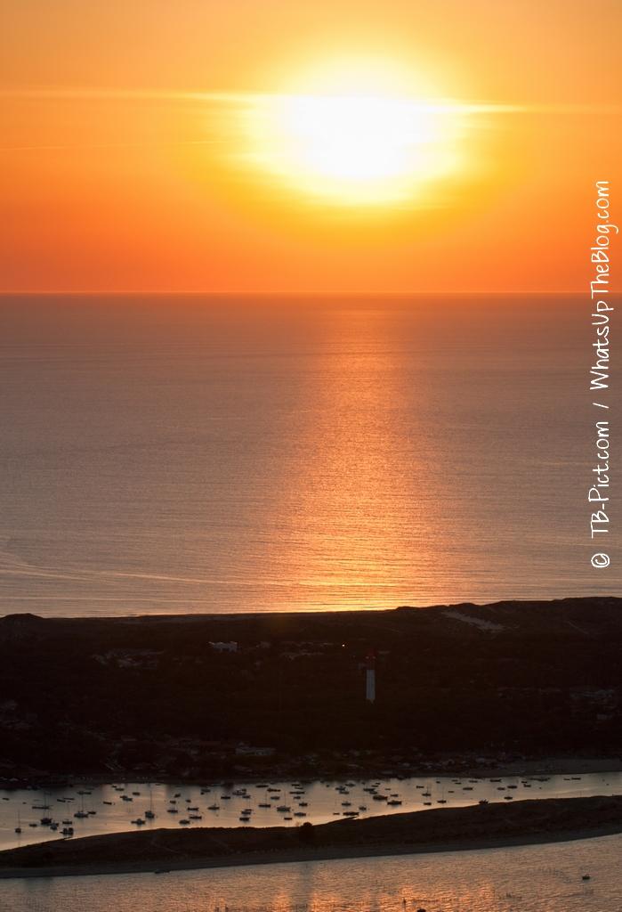 21h13 : Rayon de soleil sur le Phare du Cap Ferret